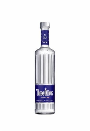 Three Olives Vodka Perspective: front
