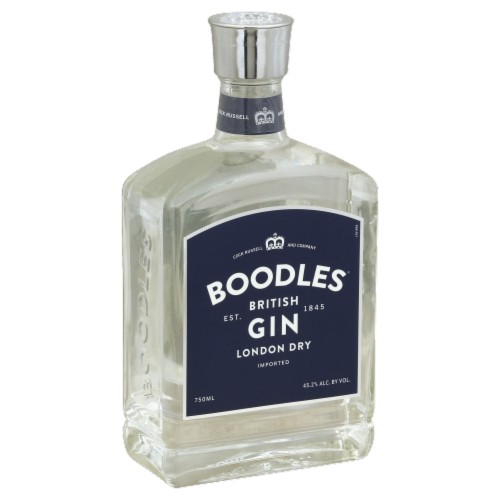 Boodles British Gin London Dry Perspective: front