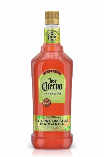 Jose Cuervo Ready to Drink Cherry Limeade Margarita Perspective: front