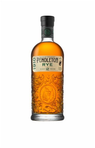 Pendleton 1910 Rye Canadian Whisky Perspective: front