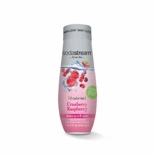 SodaStream Waters Cranberry Raspberry Zero Calorie Mix Perspective: front