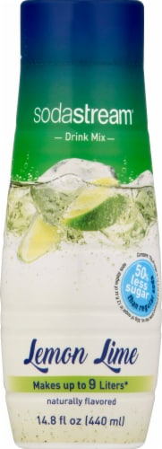 SodaStream Lemon Lime Drink Mix Perspective: front
