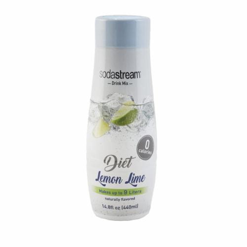 SodaStream Diet Lemon Lime Zero Calorie Drink Mix Perspective: front