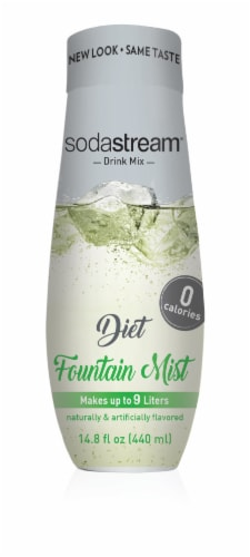 SodaStream Diet Fountain Mist Drink Mix Perspective: front