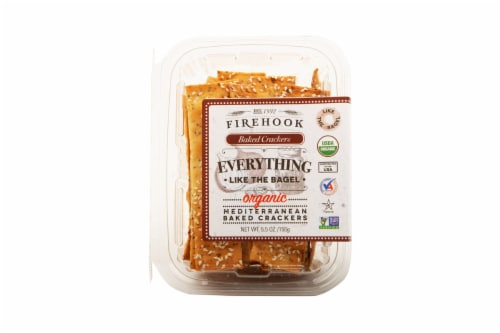 Firehook Everything Baked Crackers Perspective: front
