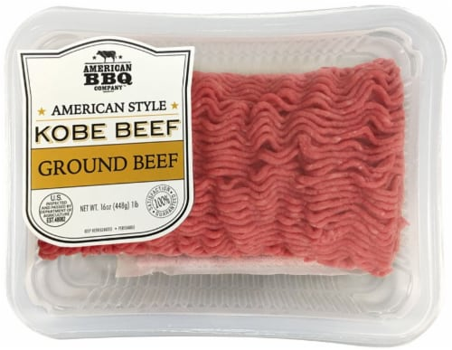American BBQ Company Kobe Ground Beef Perspective: front