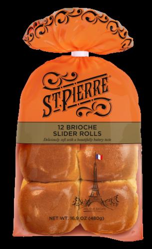 St Pierre Brioche Slider Rolls Perspective: front