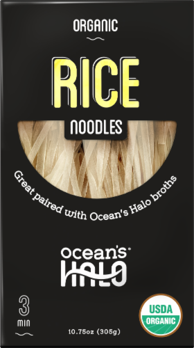 Ocean's Halo Organic Rice Noodles Perspective: front