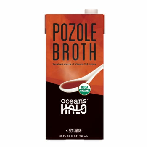 Ocean's Halo Pozole Broth Perspective: front