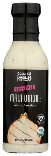 Ocean's Halo Soy-Free Maui Onion Ranch Dressing Perspective: front