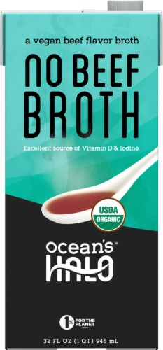 Ocean's Halo No Beef Broth Perspective: front