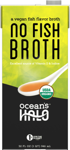 Ocean's Halo Vegan Fish Broth Perspective: front