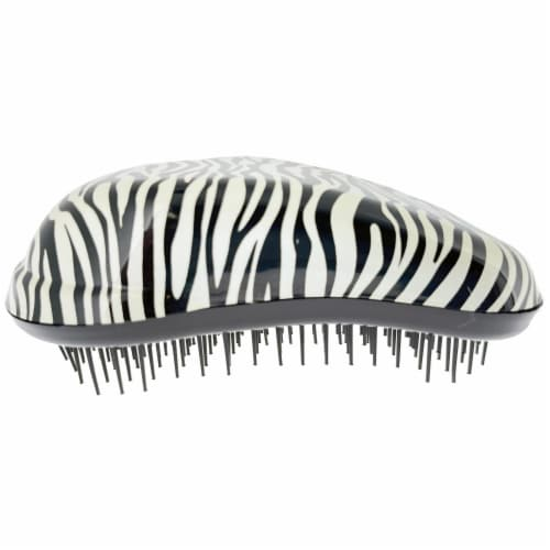 Detangler Hair Detangler- Zebra Pattern Perspective: front