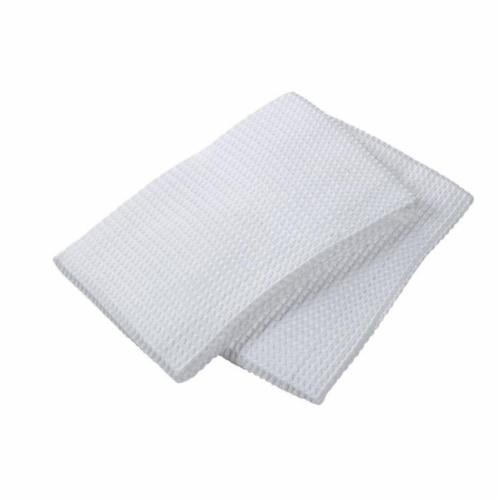 Mu Kitchen 6648-0901 Muwaffle Dish Towel  White Perspective: front