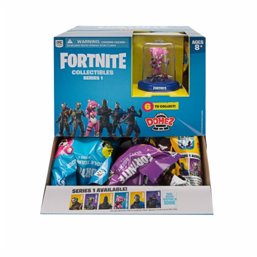 Fortnite Domez Series 1 Collectible Figure Blind Bag Perspective: front
