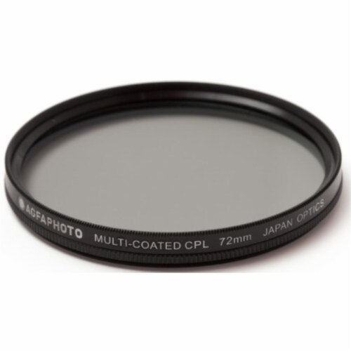 72mm Multi-coated Circular Polarizing (cpl) Filter Perspective: front