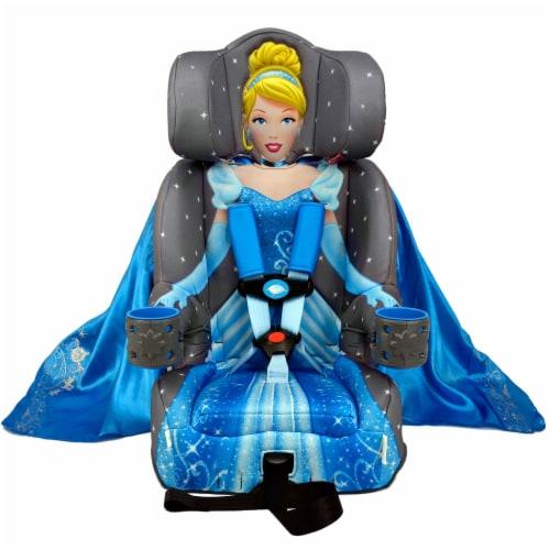 KidsEmbrace Disney Cinderella Platinum Combination Harness Booster Car Seat Perspective: front