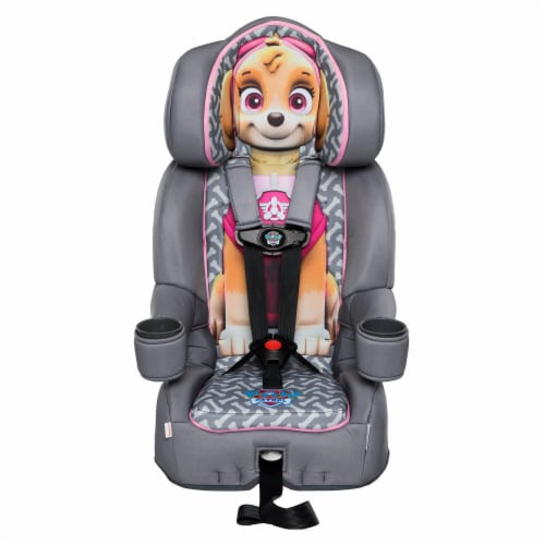 KidsEmbrace Nickelodeon Paw Patrol Skye Combination Harness Booster Car Seat Perspective: front