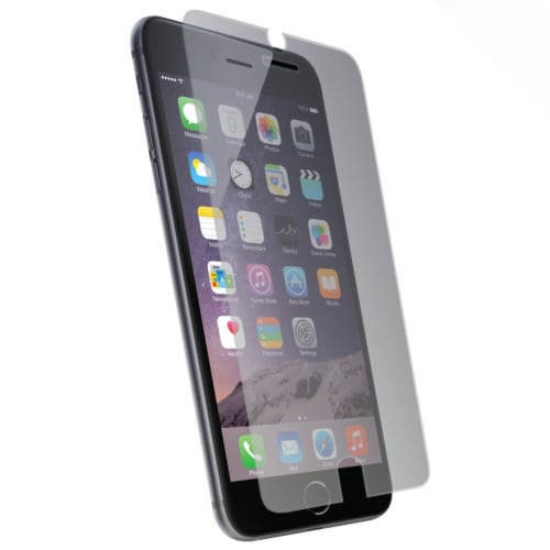 Iphone 6+,7+,8+ Tempered Glass Screen Protector Perspective: front