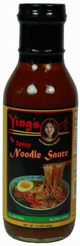 Ying's Spicy Noodle Sauce Perspective: front