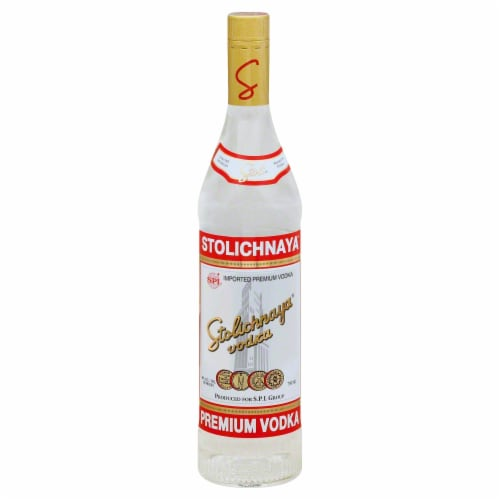 Stolichnaya Vodka Perspective: front