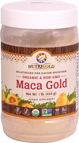 NutriGold  Maca Gold™ Powder Perspective: front