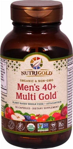 NutriGold Men's 40 plus Multi Gold™ Perspective: front