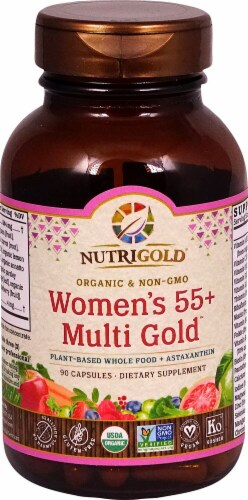 NutriGold Women's 55 plus Multi Gold™ Perspective: front