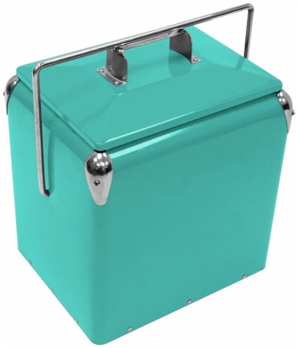 Creative Outdoor Retro Cooler - Teal Perspective: front