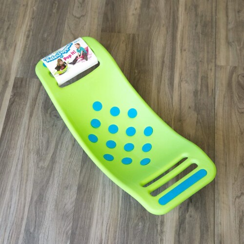 Fat Brain Toys Teeter Popper - Green Perspective: front