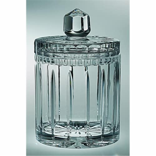 Majestic Gifts Joy Crystal Cookie Jar Perspective: front
