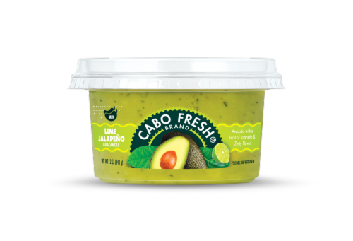 Cabo Fresh Lime Jalapeno Guacamole Perspective: front