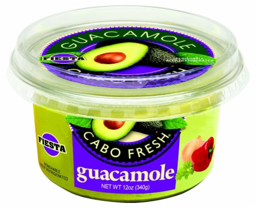 Cabo Fresh Fiesta Guacamole Perspective: front