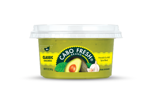Cabo Fresh Classic Mild Guacamole Perspective: front
