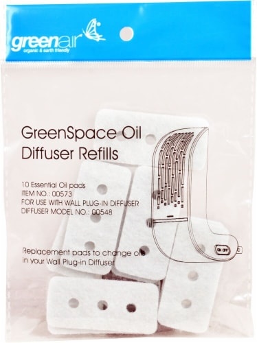 GreenAir  GreenSpace Oil Diffuser Refills Perspective: front
