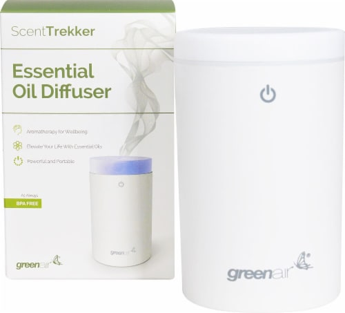 GreenAir  ScentTrekker Essential Oil Diffuser Perspective: front