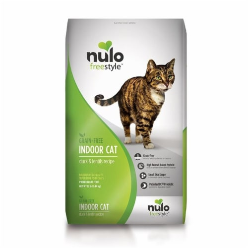 Nulo 811939020447 Free Style Grain Free Trout & Salmon Recipe Can Cat Food, 5.5 oz - Case of Perspective: front