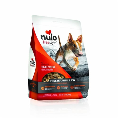 Nulo 811095 Freestyle Dog Freeze Dried - Turkey Perspective: front