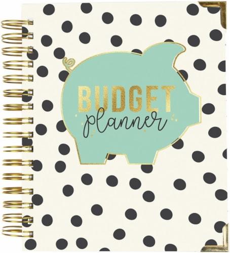 Carpe Diem Spiral 12-Month Undated Weekly Planner 7 X8.75 -Budget Perspective: front