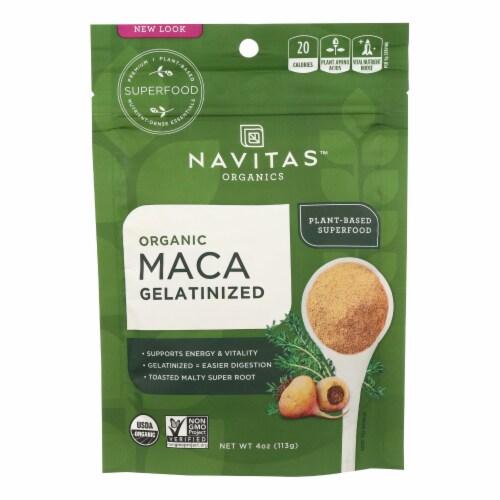 Navitas Naturals Maca Gelatinized Powder Perspective: front