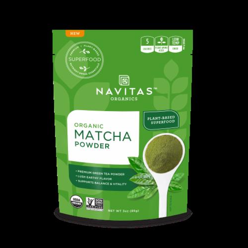 Navitas Organics Matcha Powder Perspective: front