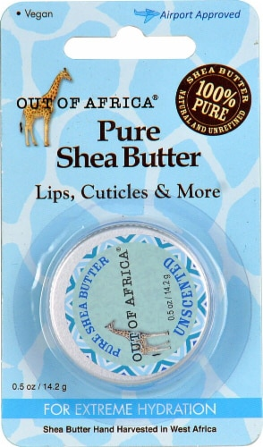 Out of Africa Unscented Shea Butter Perspective: front