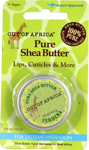 Out of Africa Verbena Pure Shea Butter Perspective: front