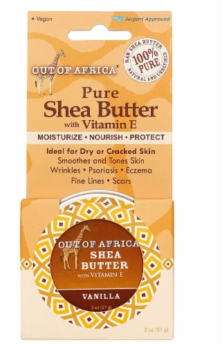 Out Of Africa Vanilla Shea Butter Perspective: front