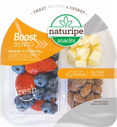 Naturipe Sweet and Crunchy Snack Box Perspective: front