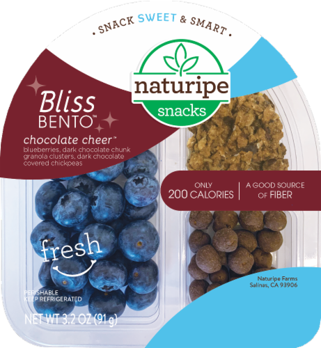 Naturipe Bliss Bentos Chocolate Cheer Snack Pack Perspective: front