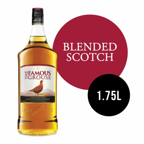 The Famous Grouse Blended Scotch Whisky Perspective: front