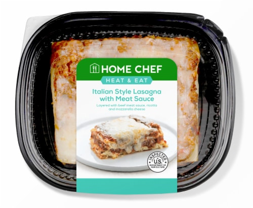 Home Chef Heat and Eat Italian Style Lasagna Perspective: front