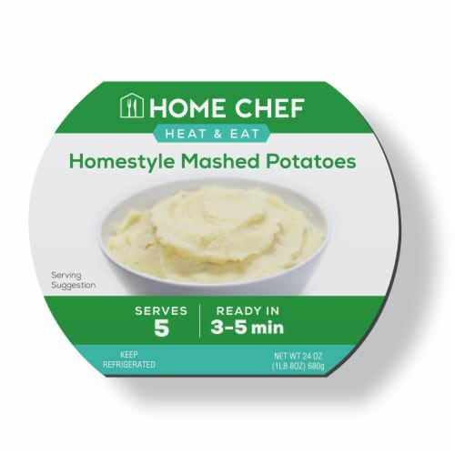 Home Chef Mashed Potatoes Perspective: front