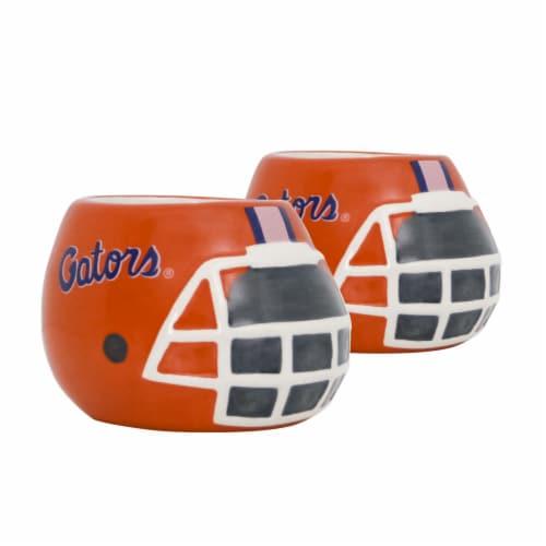 Florida Gators Team Pride Mini Ceramic Helmet Planters Perspective: front